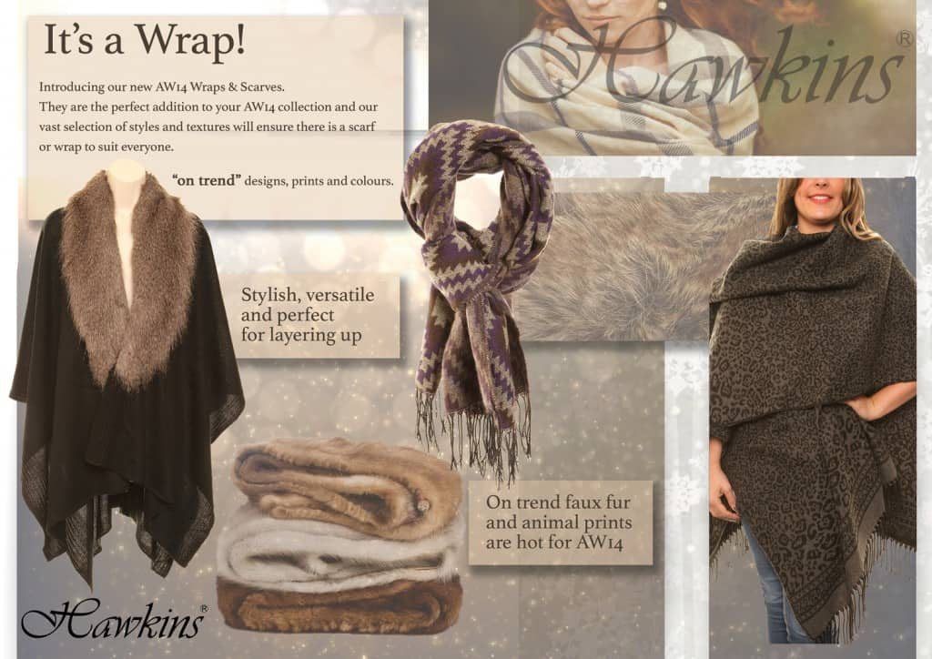 SSP AW14 Scarves and Wraps