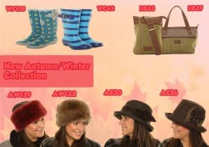 New autumn and winter collection