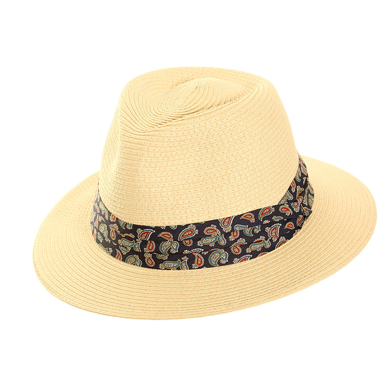 Wholesale mens straw fedora